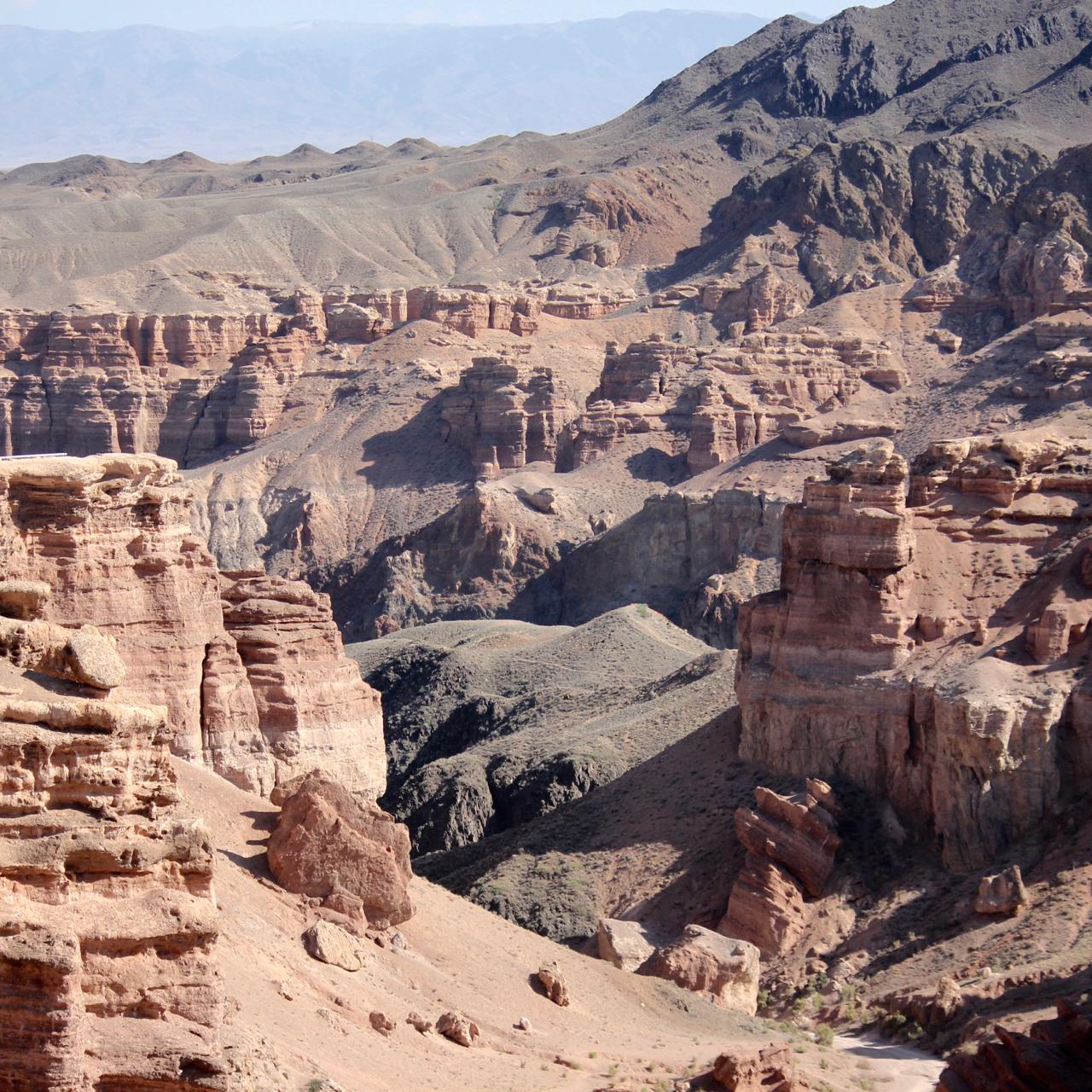 Charyn Canyon, Kazakhstan - 7